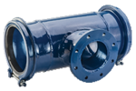 HYMAX FLANGED OUTLET LARGE DIAMETER