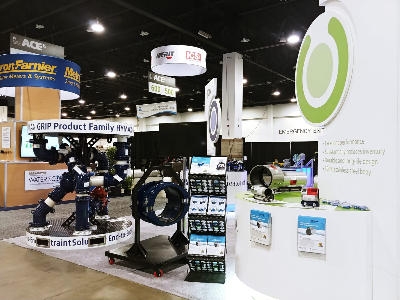 HYMAX BOOTH, ACE 2019